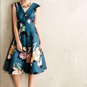 Moulinette Soeurs Baikal floral dress size 2
